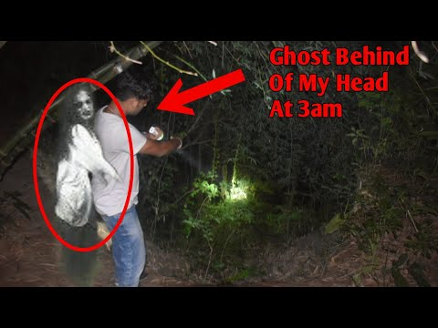 Ghost Behind Of My Head Caught On Camera 2020 Scary | 3am Vlogs