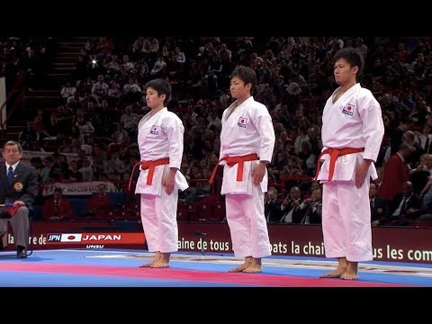 italy - Subscribe to WKFKarateWorldChamps! http://bit.ly/N7c4H0 Karate Final Male Team Kata Japan vs Italy. WKF World Karate Championships 2012. WKF Blog! http://goo...