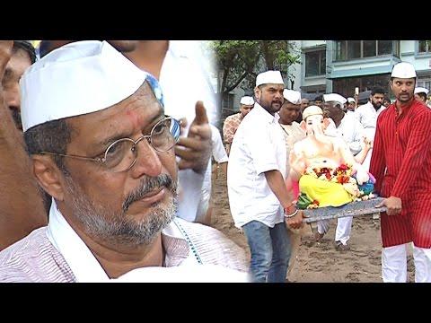 UNCUT: Nana Patekar Bids Emotional Goodbye To Ganp