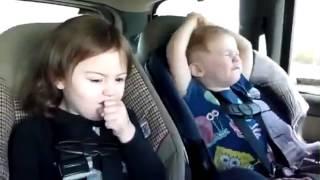 Heavy Metal Babies Singing in the Backseat / Baby Heavy Metal Child singing in the Car - YouTube