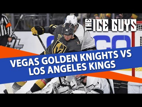 Vegas Golden Knights vs Los Angeles Kings | The Ice Guys | NHL Picks