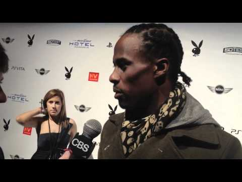 Brandon Lloyd at the Playboy Party Video
