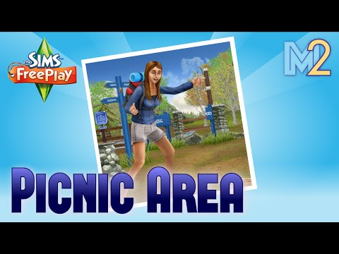Sims FreePlay - Picnic Area (Review & Walkthrough)