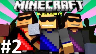 Minecraft: Block Party Mini-Game - Ep. 2 - I'm Colorblind!!!