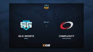 SG eSports vs compLexity, Game 3, Dota Summit 7, AM Qualifier
