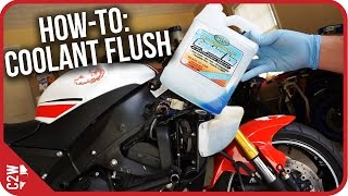 8. How-To: Motorcycle Coolant Flush (2009 Yamaha R6)