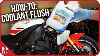 9. How-To: Motorcycle Coolant Flush (2009 Yamaha R6)