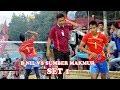 Hujan smesh BNIL VS SUMBER MAKMUR Open Turnamen Volly Ball Tugu Gajah   Deka Production