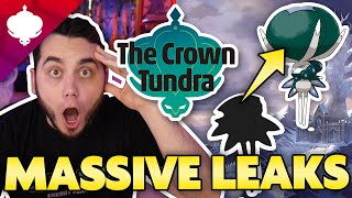 HUGE CROWN TUNDRA LEAK! NEW POKEMON INFO LEAKED! by aDrive
