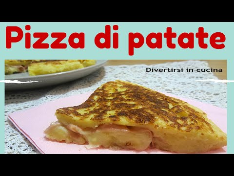 pizza di patate – divertirsi in cucina