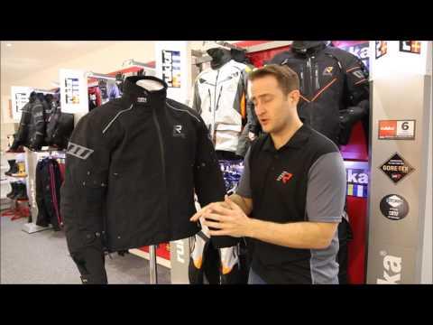 RUKKA Kalix Laminated Goretex Motorcycle Jacket UK Review - Full HD