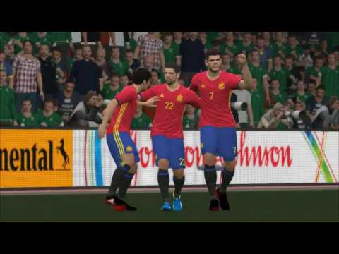 PES 2017 Shoot And Goal Spain In FIFA World Cup 2018