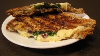 Sandwich Recipes - Italian Panini Sandwich
