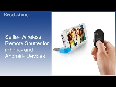 Selfie Wireless Remote Shutter for iPhone and Android Devices