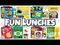 Video NEW LUNCH BOXES! and HOT LUNCHES 🍎 Fun Lunch Ideas