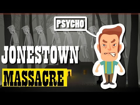 Most Evil Cult in History - Jonestown Massacre (Infographics Facts)