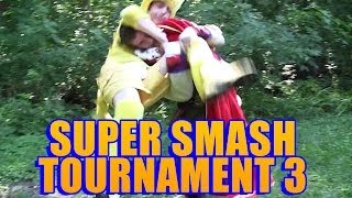 Smash Bros Tournament 3 : Uncut (a bunch of guys dressed up as smash characters fight each other for 48 minutes)