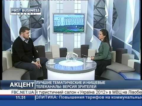 А.Глущенко о Премии MSL-2012 в эфире Первого Делового