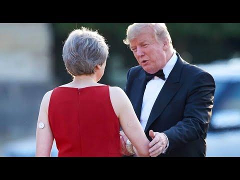 Trumps viertägiger Besuch in Großbritannien beginnt
