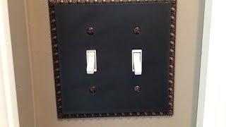 Amertac 90TTVB Egg & Dart Aged Bronze Cast Wall Plate Unboxing