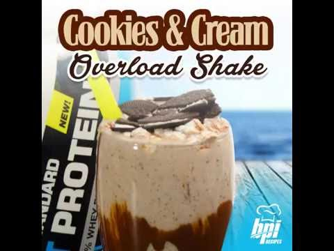 Cookies & Cream Overload Protein Shake - Special Deal In BIO!