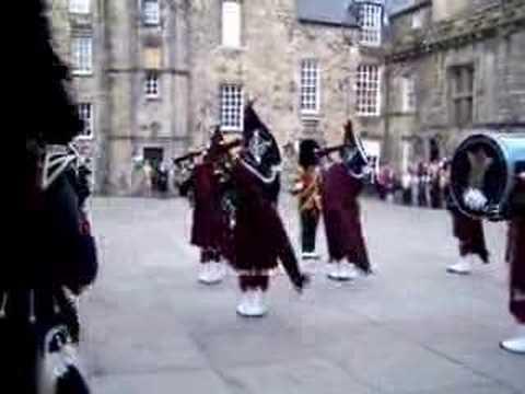 Gaitas en el castillo de Edimburgo