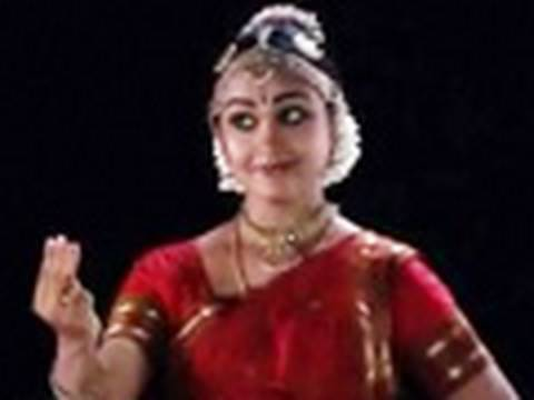 India Bharatanatyam Rajashree Warrier  Kallu veno neela… Onam Video Greetings