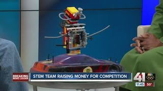 aSTEAM Village Students Share Their Robotics and Race Car STEM Programs with KSHB 41 News Midday