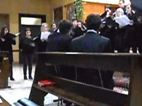 Il coro del Liceo Civico Musicale di Varese