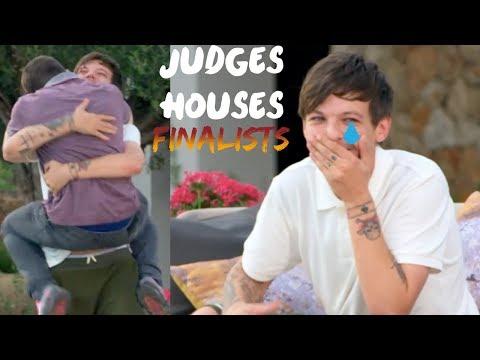 LOUIS TOMLINSON AT JUDGES HOUSES (The Boys Finalists)_TV műsorok, celebek és extrém időjárás videók toplistája