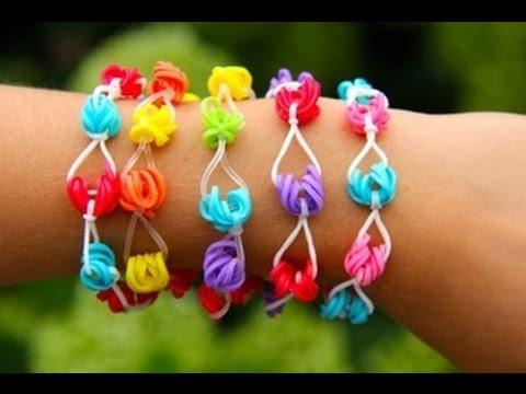 Rainbow Loom Nederlands – Honolulu Bracelet (Original Design) Loom bands