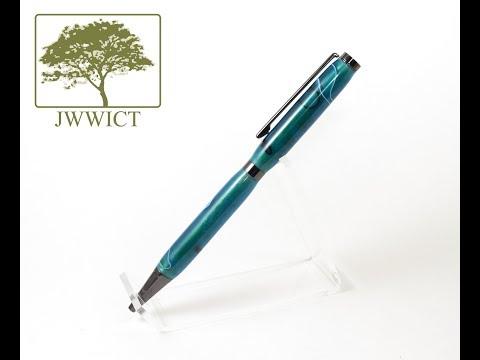 LIVE - Making a Sapphire Slimline Pen