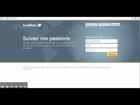 comment ouvrir un compte twitter