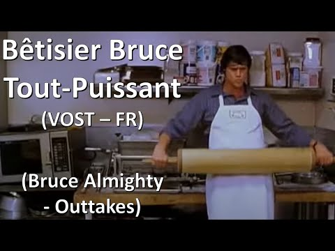 Jim Carrey bêtisier Bruce tout puissant - Jim Carrey collection of out-takes Bruce Almighty