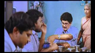 Gang Leader - Chiranjeevi Comedy Discussion With Nirmalamma