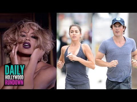 Reed - More Celebrity News ▻▻ http://bit.ly/SubClevverNews Beyonce gives sneak peek into her Fifty Shades of Grey song, Ian Somerhalder and Nikki Reed get close, and Adam Levine and Behati Prinsloo...