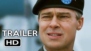 War Machine Official Trailer #2 (2017) Brad Pitt Netflix Comedy Movie HD