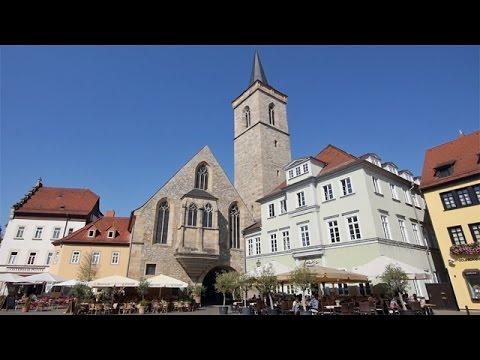 Erfurt - Sehenswürdigkeiten der Landeshauptstadt Thürin ...