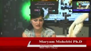 Maryam Mohebbiتاثیر به زبان آوردن اسم آلت تناسلی موقع سکس