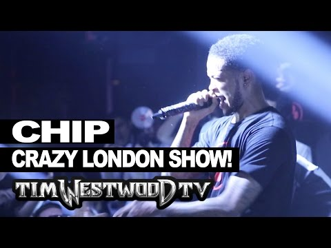 CHIP BRINGS OUT GIGGS, KANO, STORMZY, GHETTS AT LONDON SHOW @TimWestwood @OfficialChip