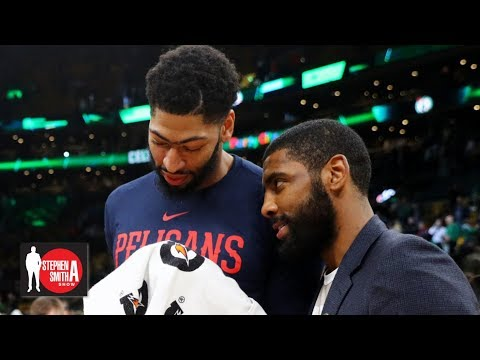Video: Kyrie Irving might be more 'box office' for the Lakers than Anthony Davis | Stephen A. Smith Show