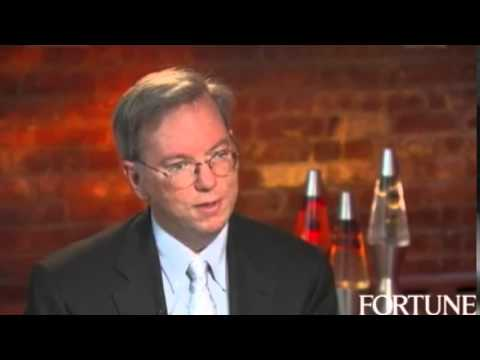 Eric Schmidt on the importance of coaching
