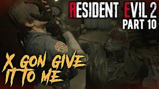 Video X GON GIVE IT TO ME - Resident Evil 2 [#10] with HybridPanda MP3, 3GP, MP4, WEBM, AVI, FLV September 2019