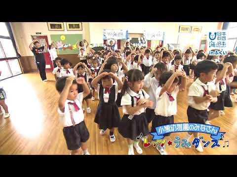 日本全国でレッツ☆うみダンス in 小鳩幼稚園のみなさん