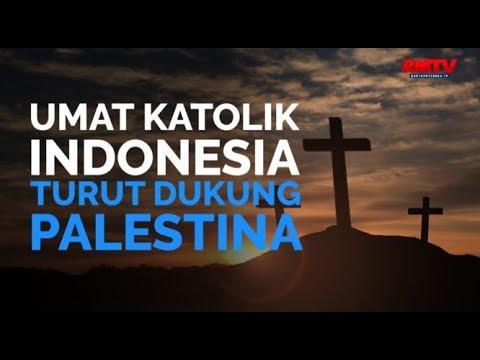 Umat Katolik Indonesia Turut Dukung Palestina