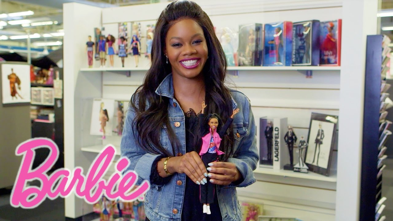 (Video) Watch Gabby Douglas Introduce Collector Gabby Douglas Barbie® Doll