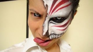 Video 【ブリーチ】- Bleach - 黒崎一護虚化メイク方法(化粧)Ichigo Hollow Makeup Tutorial MP3, 3GP, MP4, WEBM, AVI, FLV Juli 2018