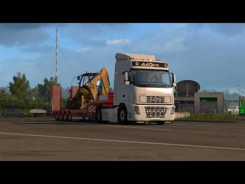 Volvo FH series Open pipe sound 2016/11/13
