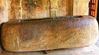 Thanjavur India  city photo : Tamil King Raja Raja Chola's Bathtub Discovered - Thanjavur, India