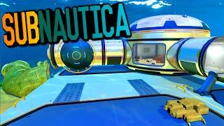 Subnautica - BIOREACTOR POWER, BASE BUILDING, AQUARIUM, FISH FARM #2 (Subnautica Survival Gameplay)